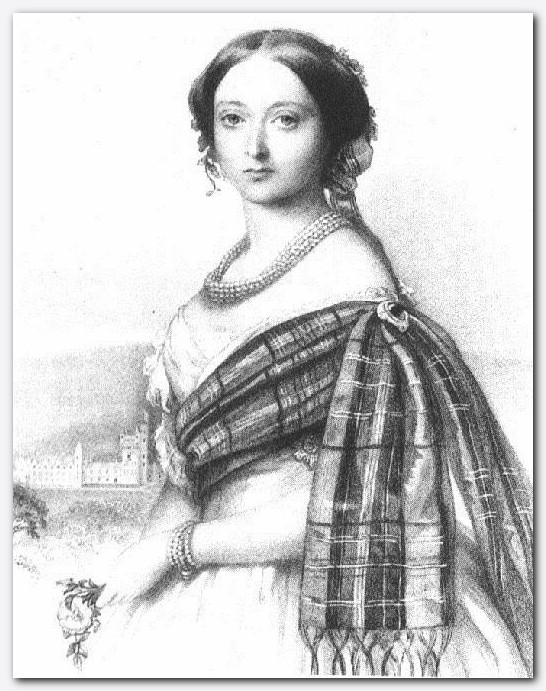 Slika 13 - Kraljica Viktorija v mladih letih