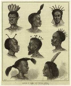Slika 32 nekaj afriskih pricesk