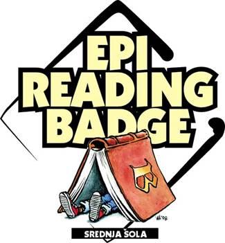 Lep uspeh naših dijakinj na tekmovanju Epi Reading Badge – angleška bralna značka